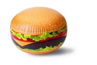 Click to get Infltable Burger Beach Ball