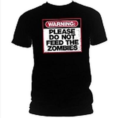Click to get Warning Do Not Feed the Zombies TShirt