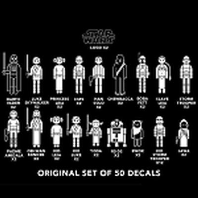 Click to get Star Wars Family Car Decals