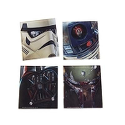 Click to get Star Wars 4 pc Glass Coasters Set