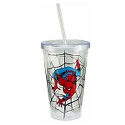 Click to get SpiderMan 18 oz Acrylic Travel Cup