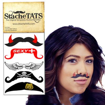 Click to get Stache Tats Sexy Temporary Mustache Tattoos