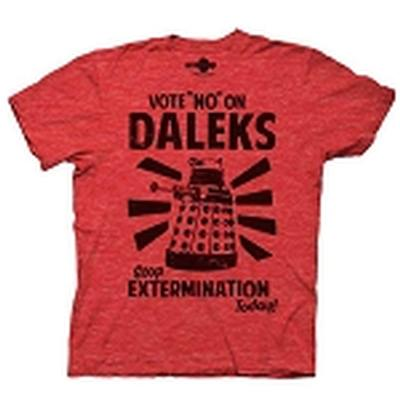 Click to get Doctor Who Vote No On Daleks TShirt