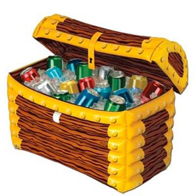 Click to get Inflatable Treasure Chest Cooler
