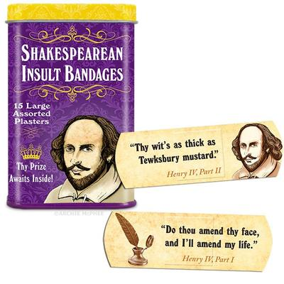 Click to get Shakespearean Insult Bandages