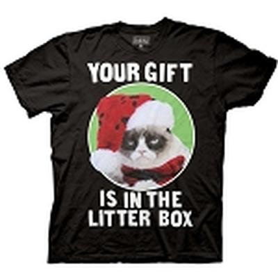 Click to get Grumpy Cat Your Gift is in the Litter Box Shirt
