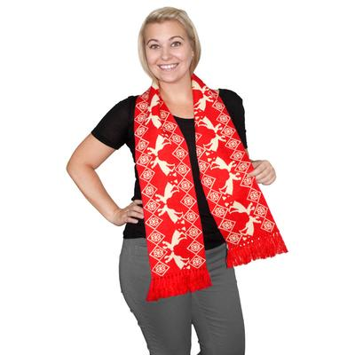 Click to get Pooping Moose Holiday Scarf