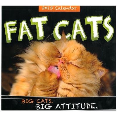 Click to get 2013 Fat Cats Calendar