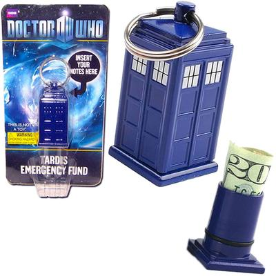 Click to get Emergency Fund Tardis Keychain