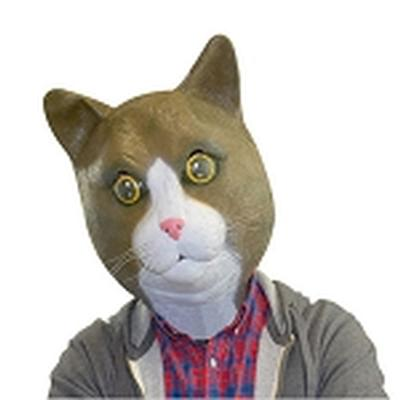 Click to get Cat Mask Buster Brown