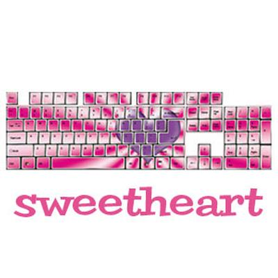 Click to get Sweetheart Keyboard Stickers