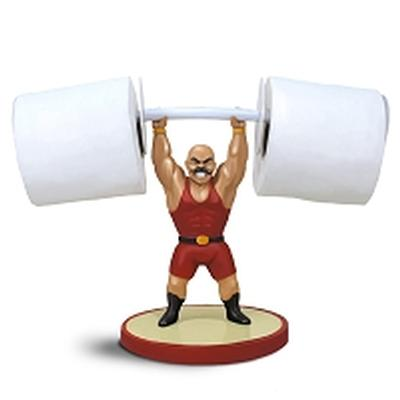 Click to get Muscle Man Toilet Paper Holder