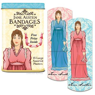 Click to get Jane Austen Bandages