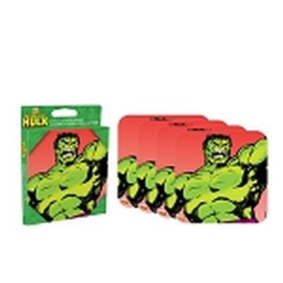 Click to get Hulk 4 piece Coaster Set
