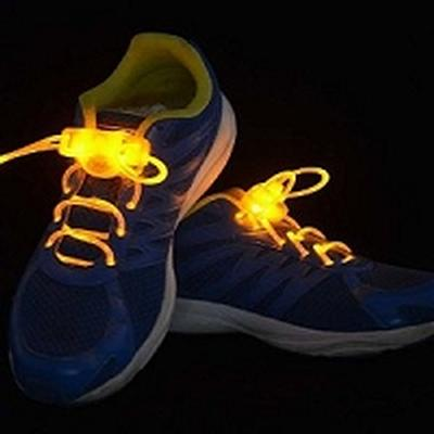 Click to get Yellow Light Up Flashing Shoelaces