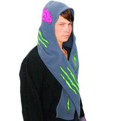 Click to get Zombie Attack Fleece Scarf