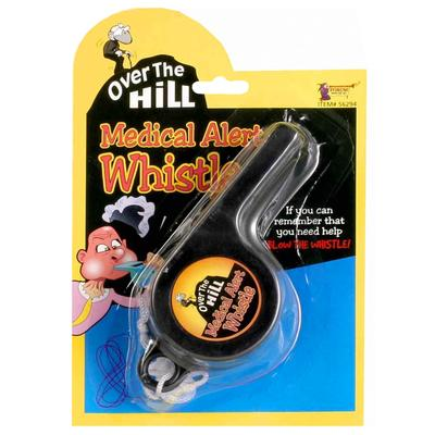 Click to get Over the Hill Medical Alert Whistle
