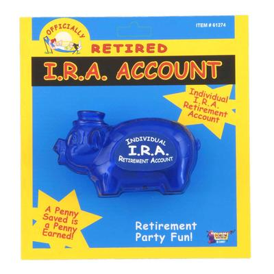Click to get Officially Retired IRA Piggy Bank