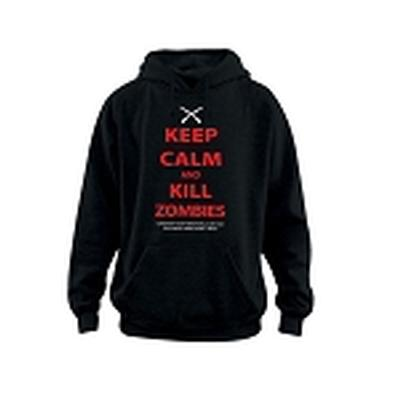 Click to get Keep Calm Kill Zombies Hoodie