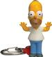 Homer and Crusty Bobble Head Keychains